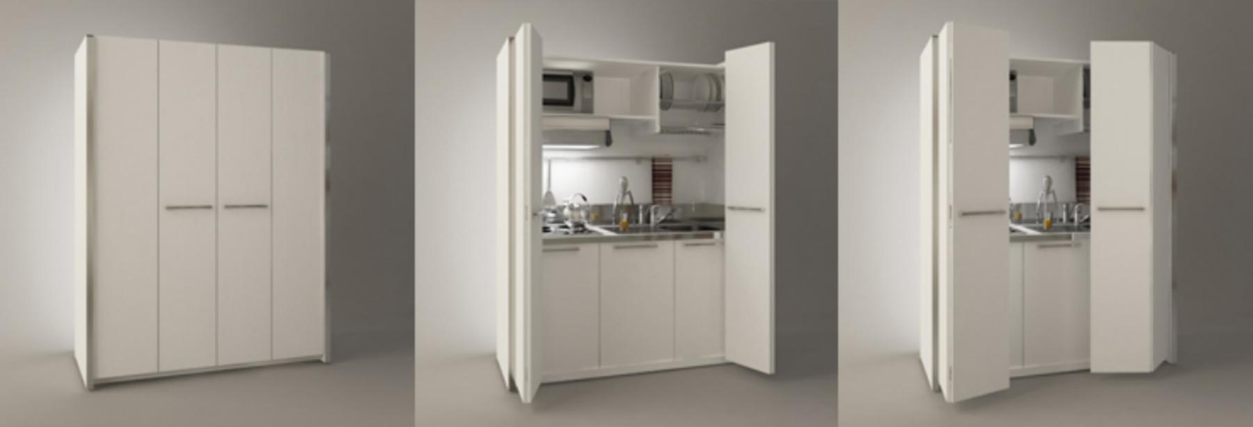 Cucine Armadio Monoblocco. Cucine Monoblocco Ecocompatta Veneta ...