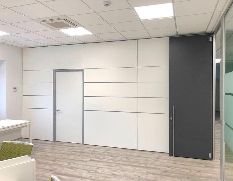 Pareti mobili per ufficio pareti per ambienti di lavoro for Pareti mobili per ufficio